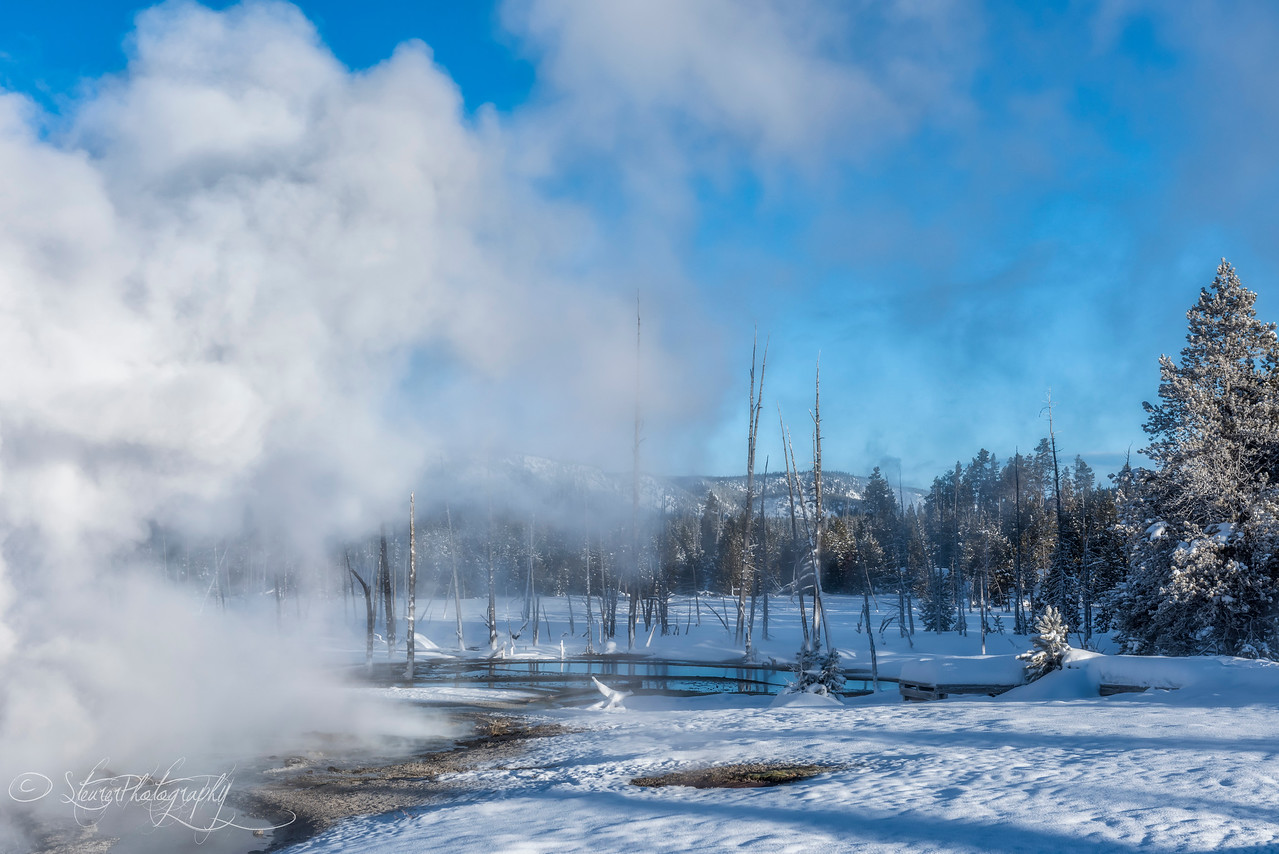 Fire and Ice - Black Sand Geysir Basin, Yellowstone 2018