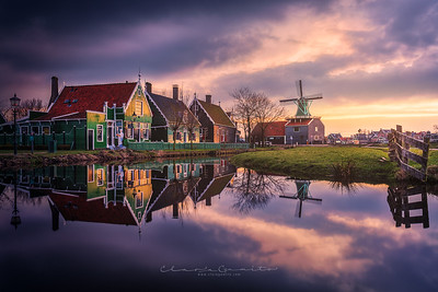 44/52 - Evening at Zaanse Schans