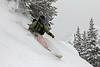 Utah powder snowboarding