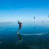 Ice Kiting - Turn