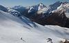 Skiing Arthur's Pass