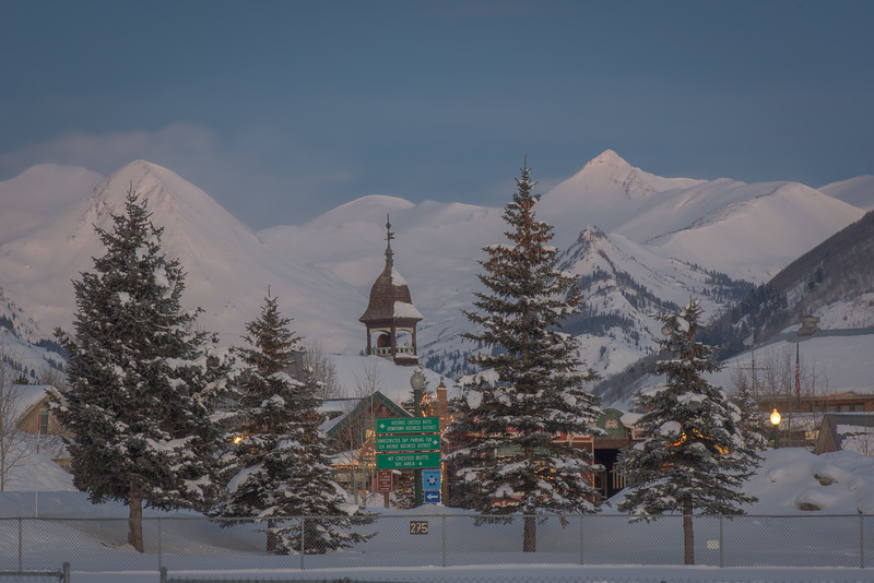 Crested Butte Winter