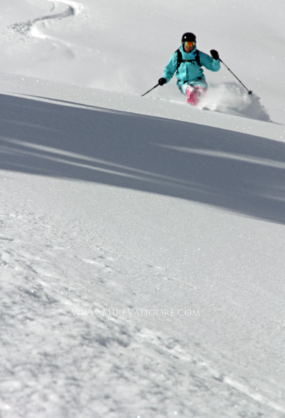 David Finlayson focusing in on some fresh powder<br /> Vail, Colorado