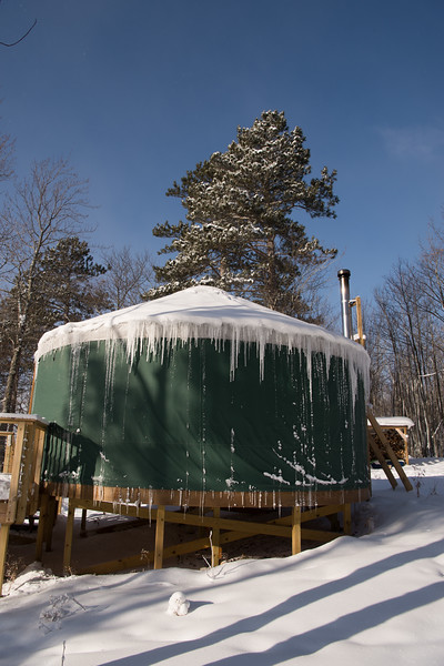 Bayfield County Yurt