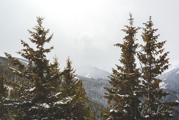 Aspen, Colorado - A day at the top of the mountain, looking as far off as could see despite the incoming snow storm. It was an amazing vista, nestled in the Colorado mountains.