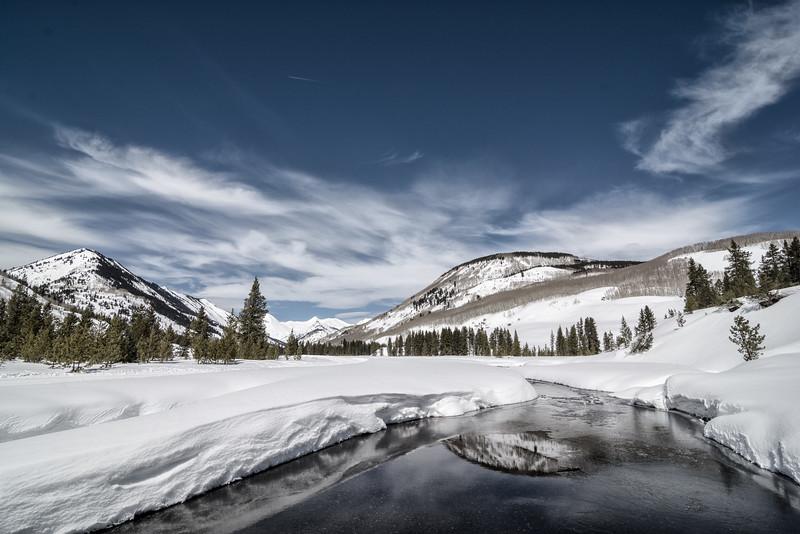 Slate in Winter