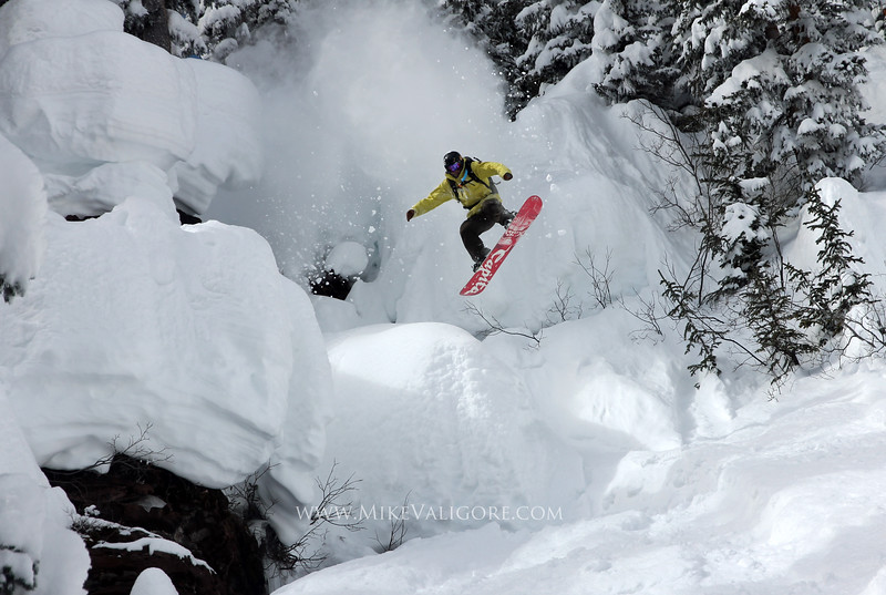 Pillow Drop<br /> Vail backcountry, Colorado