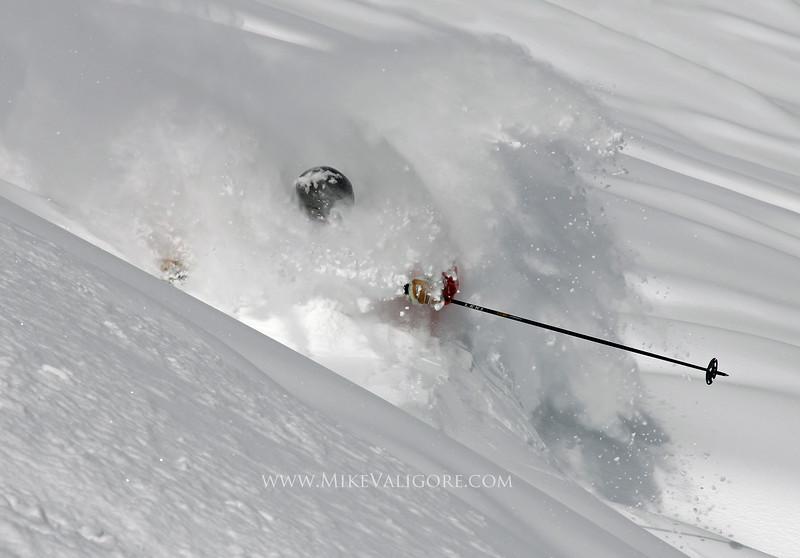 Deep Powder<br /> Vail backcountry, Colorado