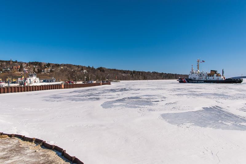 Coast Guard Opens Ice
