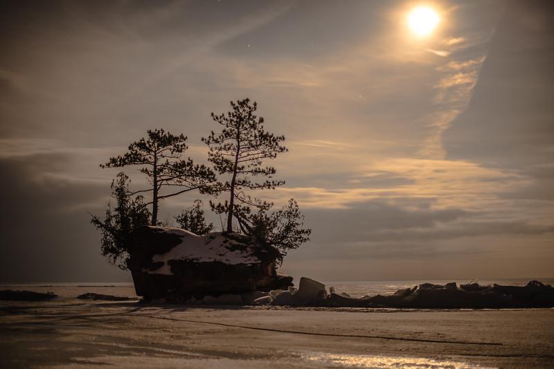 Island on Lake Superior