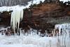 Ice - Sandstone - Lichen.