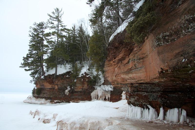 Along Mawike Bay shoreline.  - Lake Superior.