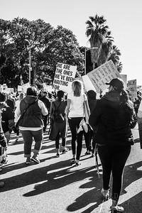 Los Angeles Women's March 2018