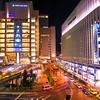 Osaka station.
