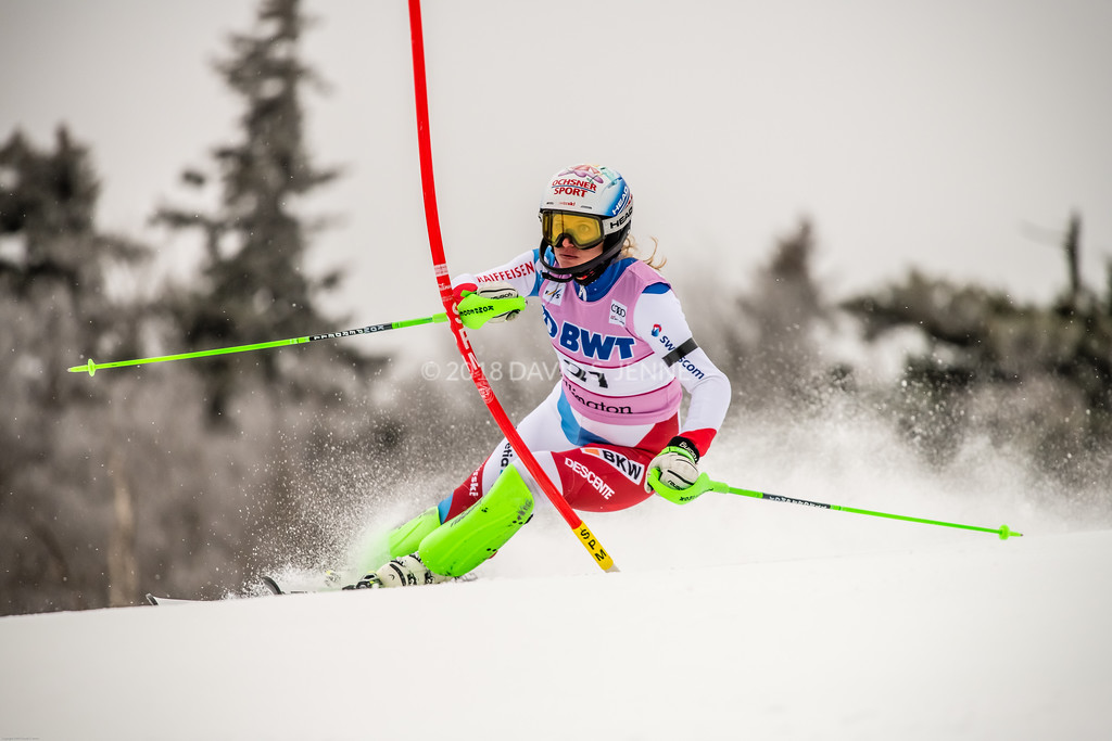 Denise Feieraben SUI - Audi FIS Ski World Cup Womens Slalom Killington Vt-20171126-01