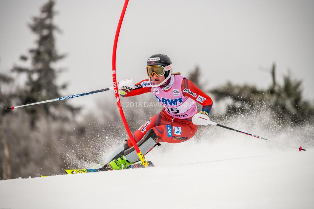 Maren Skjoeld NOR - Audi FIS Ski World Cup Womens Slalom Killington Vt-20171126-02