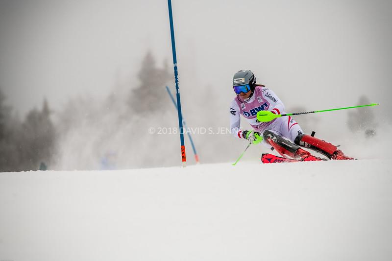 Katharina Huber AUT - Audi FIS Ski World Cup Womens Slalom Killington Vt-20171126-02