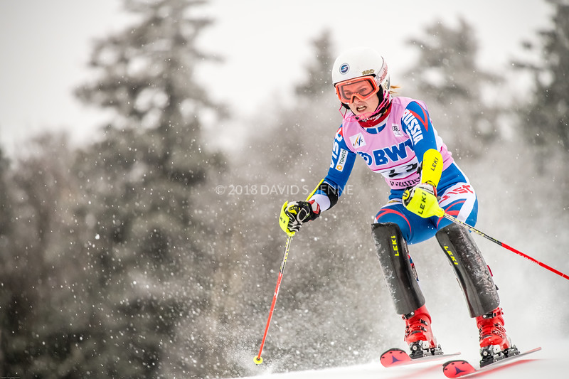 Ekaterina Tkachenko RUS - Audi FIS Ski World Cup Womens Slalom Killington Vt-20171126-01