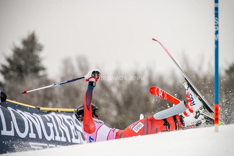Kristin Lysdahl NOR - Audi FIS Ski World Cup Womens Slalom Killington Vt-20171126-18