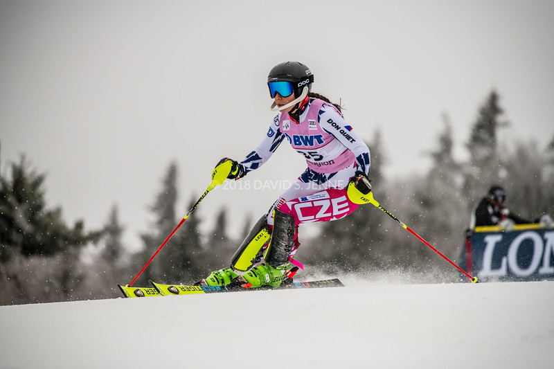 Martina Dubovska CZE - Audi FIS Ski World Cup Womens Slalom Killington Vt-20171126-01