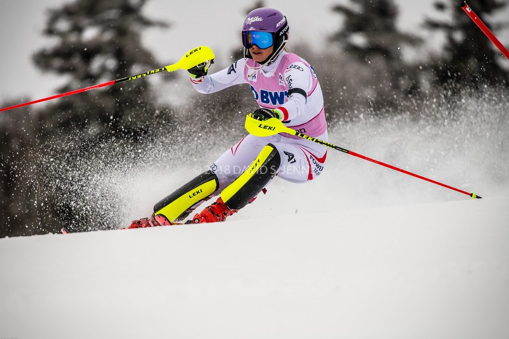 Michaela Kirchgasser AUT - Audi FIS Ski World Cup Womens Slalom Killington Vt-20171126-08
