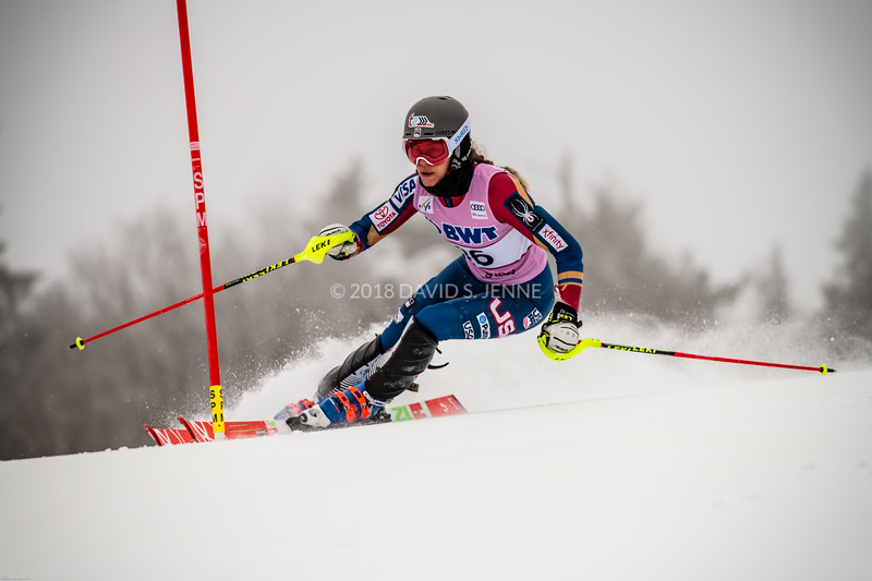 Resi Stiegler USA - Audi FIS Ski World Cup Womens Slalom Killington Vt-20171126-02