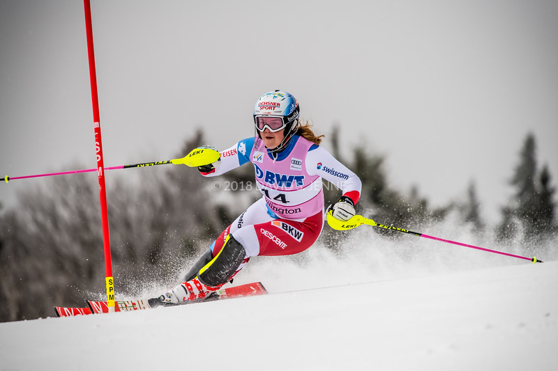 Melanie Meillard SUI - Audi FIS Ski World Cup Womens Slalom Killington Vt-20171126-01