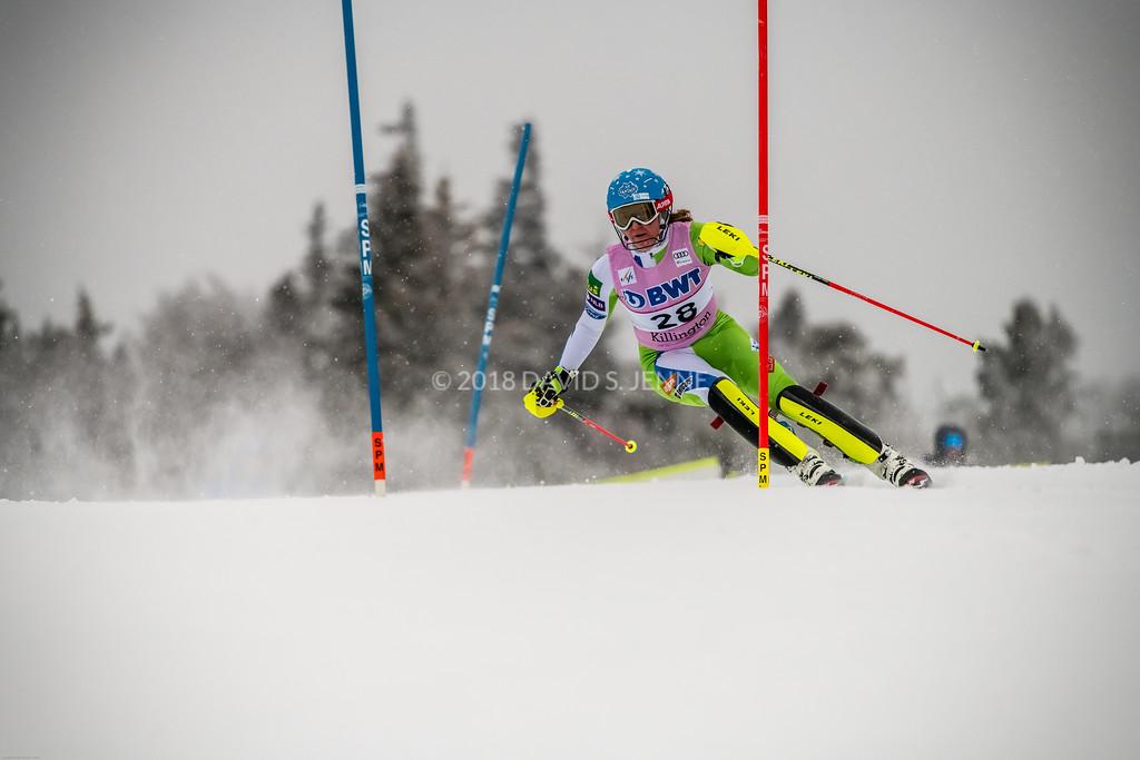 Marusa Ferk SLO - Audi FIS Ski World Cup Womens Slalom Killington Vt-20171126-02