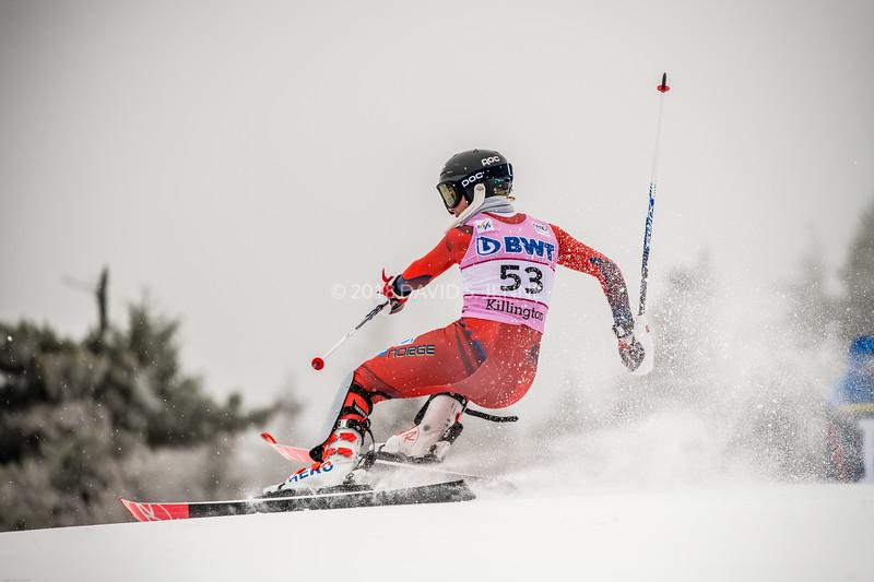 Kristin Lysdahl NOR - Audi FIS Ski World Cup Womens Slalom Killington Vt-20171126-09