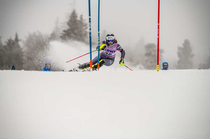 Anne-Sophie Barthet FRA - Audi FIS Ski World Cup Womens Slalom Killington Vt-20171126-01