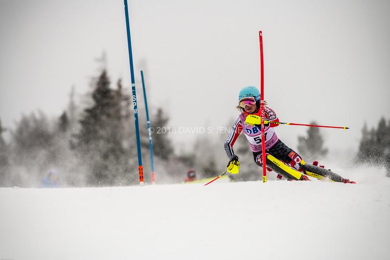 Amelia Smart CAN - Audi FIS Ski World Cup Womens Slalom Killington Vt-20171126-02