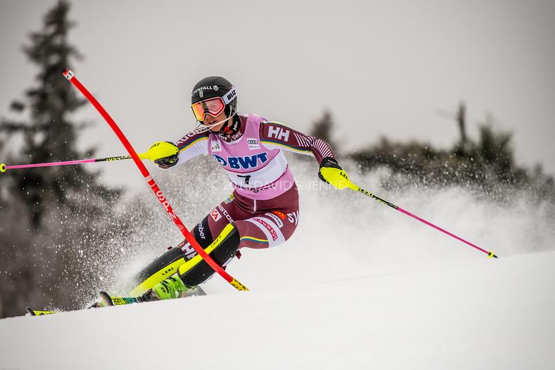 Emelie Wikstroem SWE - Audi FIS Ski World Cup Womens Slalom Killington Vt-20171126-03