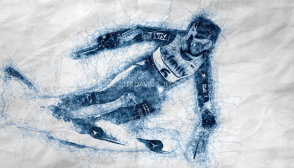 Mikaela Shiffrin USA - Audi FIS Ski World Cup Womens Giant Slalom Killington Vt-20171125-SCRIBBLE-01
