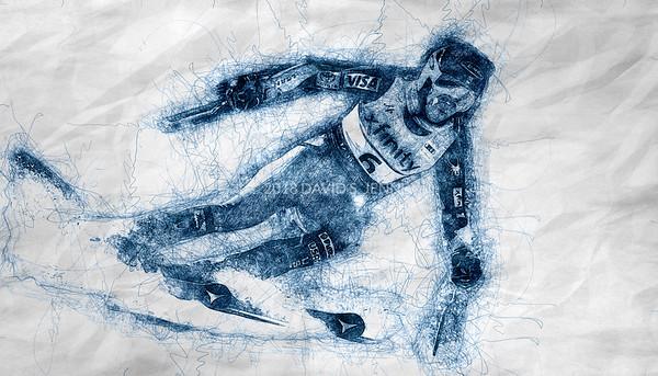 Mikaela Shiffrin USA - Audi FIS Ski World Cup Womens Giant Slalom Killington Vt-20171125-SCRIBBLE-01