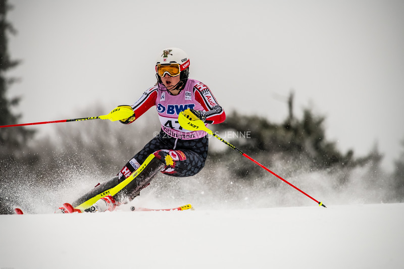 Laurence St-Germain CAN - Audi FIS Ski World Cup Womens Slalom Killington Vt-20171126-08