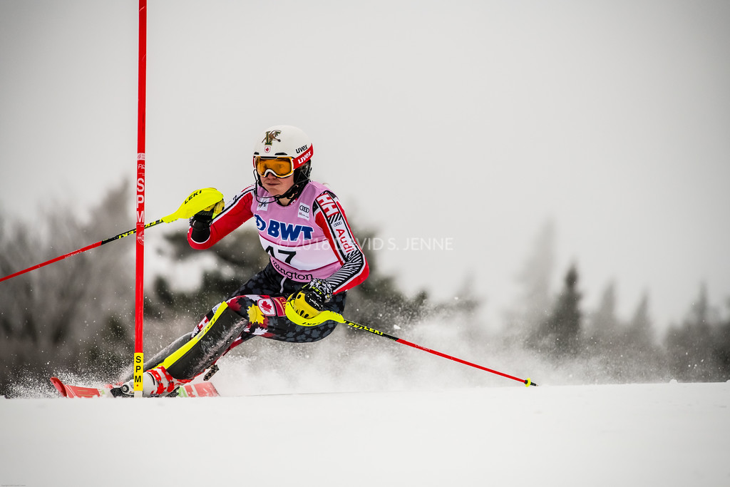 Laurence St-Germain CAN - Audi FIS Ski World Cup Womens Slalom Killington Vt-20171126-07