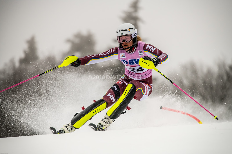 Anna Swenn-Larsson SWE - Audi FIS Ski World Cup Womens Slalom Killington Vt-20171126-04
