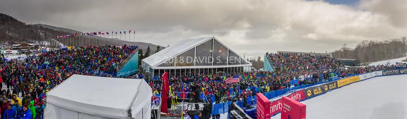 Audi FIS Ski World Cup Womens Slalom Killington Vt-20171126-551-Pano