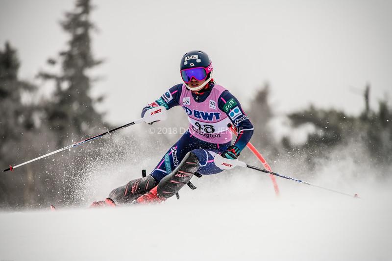 Asa Ando JPN - Audi FIS Ski World Cup Womens Slalom Killington Vt-20171126-09