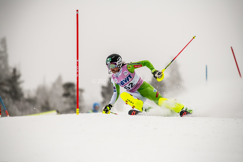 Tina Robnik SLO - Audi FIS Ski World Cup Womens Slalom Killington Vt-20171126-07