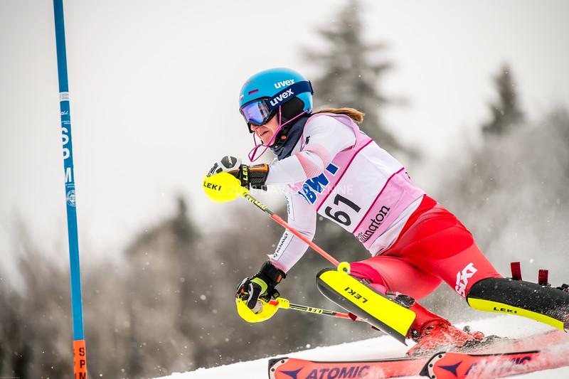 Maryna Gasienica-Daniel POL - Audi FIS Ski World Cup Womens Slalom Killington Vt-20171126-02