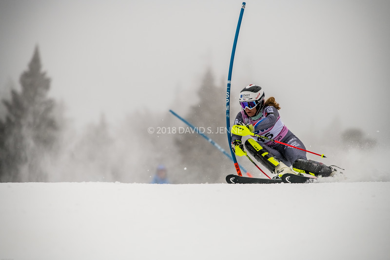 Anne-Sophie Barthet FRA - Audi FIS Ski World Cup Womens Slalom Killington Vt-20171126-07