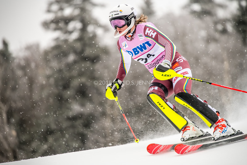 Estelle Alphand SWE - Audi FIS Ski World Cup Womens Slalom Killington Vt-20171126-01