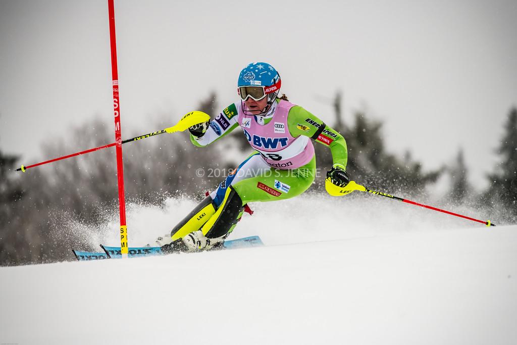Marusa Ferk SLO - Audi FIS Ski World Cup Womens Slalom Killington Vt-20171126-05
