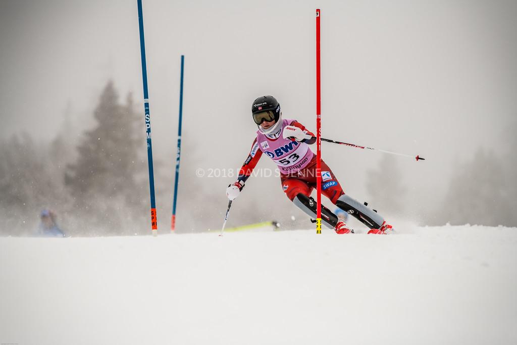 Kristin Lysdahl NOR - Audi FIS Ski World Cup Womens Slalom Killington Vt-20171126-04