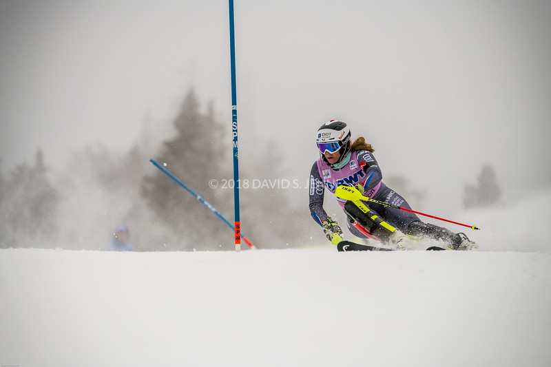 Anne-Sophie Barthet FRA - Audi FIS Ski World Cup Womens Slalom Killington Vt-20171126-06