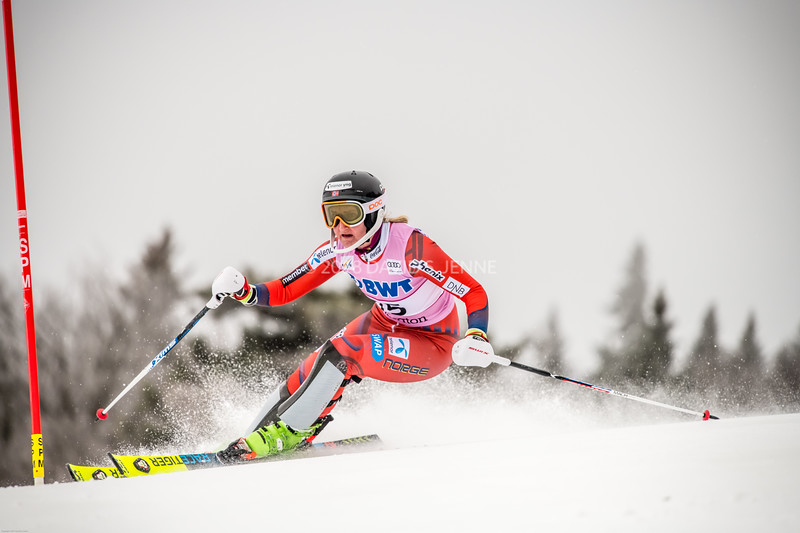 Maren Skjoeld NOR - Audi FIS Ski World Cup Womens Slalom Killington Vt-20171126-01