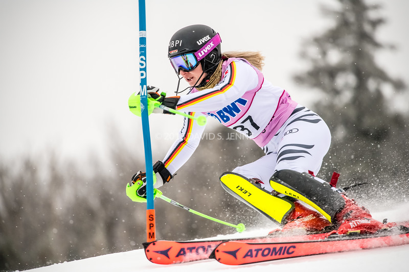 Jessica Hilzinger GER - Audi FIS Ski World Cup Womens Slalom Killington Vt-20171126-01