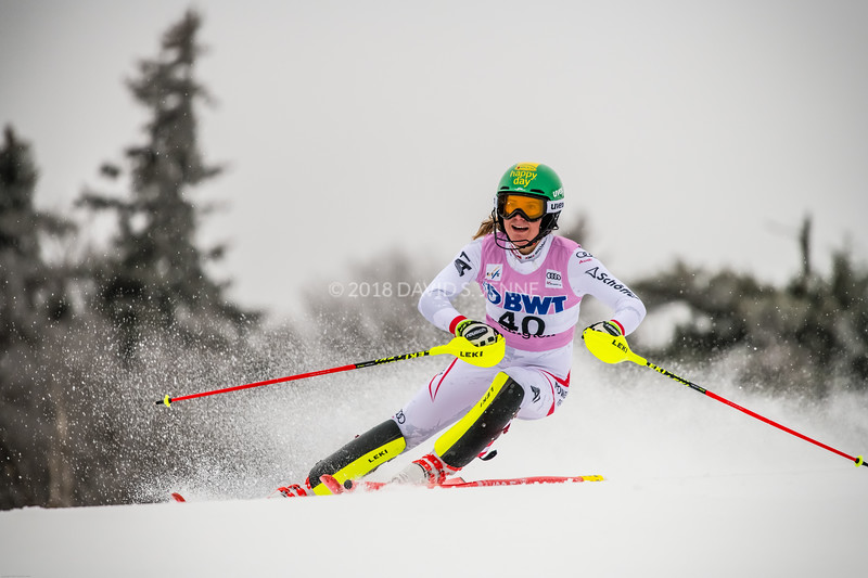 Katharina Liensberger AUT - Audi FIS Ski World Cup Womens Slalom Killington Vt-20171126-01