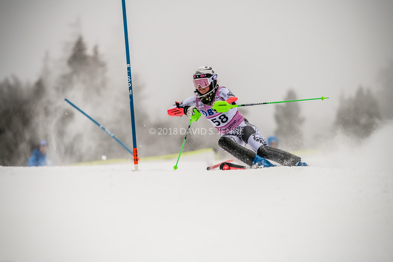 Piera Hudson NZL - Audi FIS Ski World Cup Womens Slalom Killington Vt-20171126-05